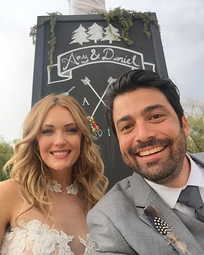 חתונם של איימי ודניאל